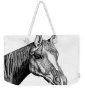 Charcoal Horse Weekender Tote Bag