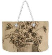 Charcoal Planter Weekender Tote Bag