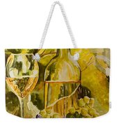 Chardonnay At The Vineyard Weekender Tote Bag