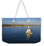 Chardonnay II With A Rising Full Moon Weekender Tote Bag