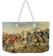 Charge Of The Seventh Cavalry Weekender Tote Bag