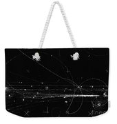 Charged Particles, Bubble Chamber Event Weekender Tote Bag
