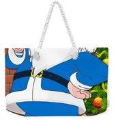 Chargers Santa Claus Weekender Tote Bag