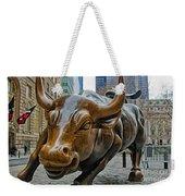 Charging Bull 4 Weekender Tote Bag