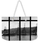 Charging Dock Of Barcelona Weekender Tote Bag