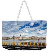 Charles Bridge And Penguines Weekender Tote Bag