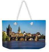 Charles Bridge Weekender Tote Bag