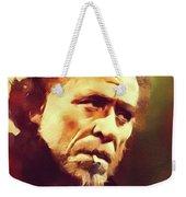 Charles Bukowski, Literary Legend Weekender Tote Bag