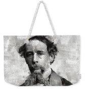 Charles Dickens Author Weekender Tote Bag