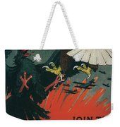 Join The Army Air Service Weekender Tote Bag