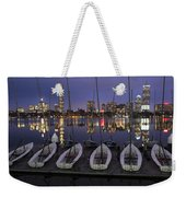 Charles River Boats Clear Water Reflection Weekender Tote Bag