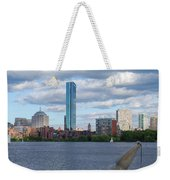 Charles River Boston Ma Crossing The Charles Weekender Tote Bag