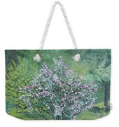 Charles Street Weekender Tote Bag by Leah  Tomaino