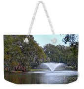 Charles Towne Landing Fountain Weekender Tote Bag