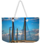 Charles W Cullen Bridge South Approach Weekender Tote Bag