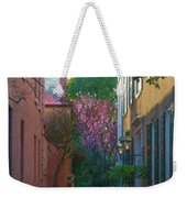 Charleston Alley In The Spring Weekender Tote Bag