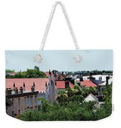Charleston Rooftops - Queen And Church Streets Weekender Tote Bag