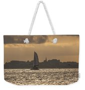 Charleston Sailing Weekender Tote Bag