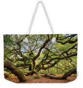 Charleston Sc Angel Oak Tree South Carolina Landscape Weekender Tote Bag