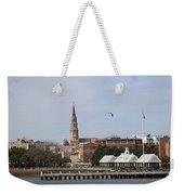 Charleston Skyline Weekender Tote Bag