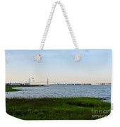 Charleston South Carolina Waterfront Park During Sunset Weekender Tote Bag
