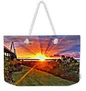 Charleston Sunset Weekender Tote Bag