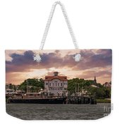 Charleston Wharf Weekender Tote Bag