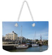 Charlestown Harbour Cornwall Weekender Tote Bag