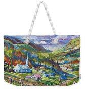 Charlevoix Inspiration Weekender Tote Bag