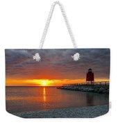 Charlevoix Sunset Weekender Tote Bag