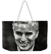 Charlie Chaplin Hollywood Legend Weekender Tote Bag