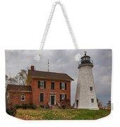 Charlotte-genesee Lighthouse Weekender Tote Bag