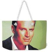 Charlton Heston, Hollywood Legends Weekender Tote Bag