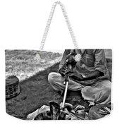 Charming Monochrome Weekender Tote Bag