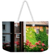 Charming Rothenburg Window Weekender Tote Bag