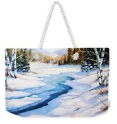 Charming Winter Weekender Tote Bag