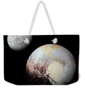 Charon And Pluto Enhanced Weekender Tote Bag