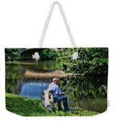 Chartres, France, A Good Day Fishing Weekender Tote Bag