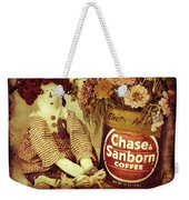 Chase And Sanborn Weekender Tote Bag