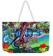 Chase Of The Faerie Note Bubble Weekender Tote Bag