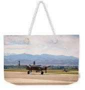 Chase Plane Weekender Tote Bag