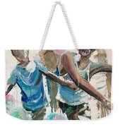 Chasing Bubbles Weekender Tote Bag
