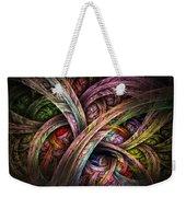 Chasing Colors - Fractal Art Weekender Tote Bag
