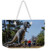 Chasing Humans Through Forest Park Weekender Tote Bag