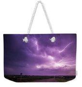 Chasing Nebraska Lightning 012 Weekender Tote Bag