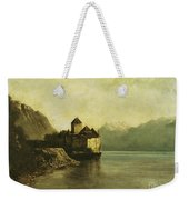 Chateau De Chillon Weekender Tote Bag by Gustave Courbet
