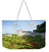 Chateau De Villandry, Loire, France Weekender Tote Bag