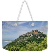 Chateau D'eze On The Road To Monaco Weekender Tote Bag by Allen Sheffield