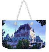 Chateau Frontenac, Montreal Weekender Tote Bag