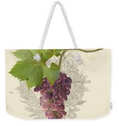 Chateau Pinot Noir Vineyards - Vintage Style Weekender Tote Bag